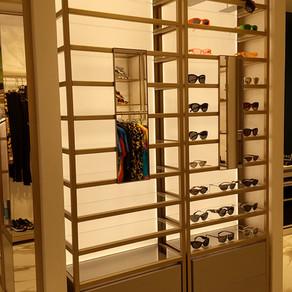 Versace りんくうアウトレット店 店舗什器照明
