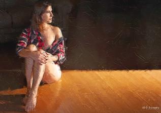 Pintura Ensaio Sensual