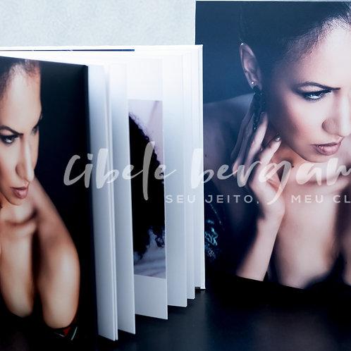 Book 25x25 Papel Fotográfico+ Estojo Premium Personalizado
