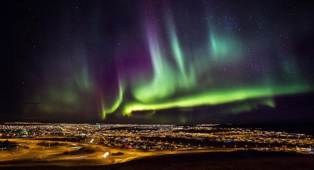 The Aurora Borealis over Norway