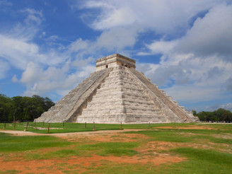 Celebrating The Beginning Of The Spring Equinox In The State Of Yucatán