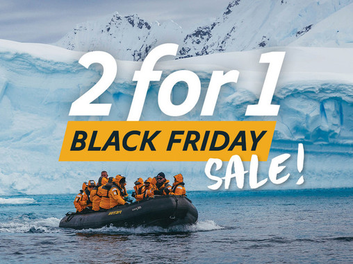 Quark Expeditions Announces Limited Time 2-for-1 Black Friday Sale