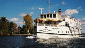 St. Lawrence Cruise Lines Celebrates 40 Years Of Cruising The St. Lawrence and Ottawa Rivers