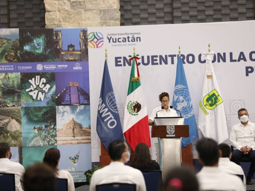 WTO Calls For Tourism Reactivation While Visiting State Of Yucatán