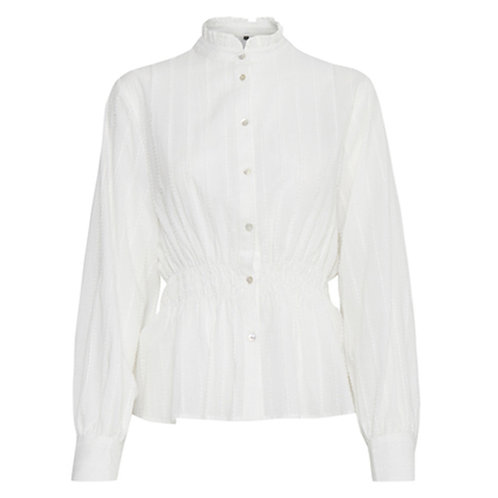 B YOUNG HIGH NECK BLOUSE