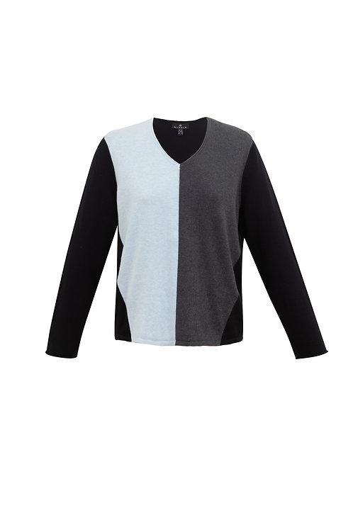 MARBLE JUMPER ICE BLUE MIX (6384)