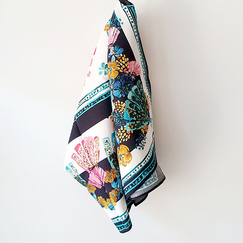 Thought Floral Print Scarf
