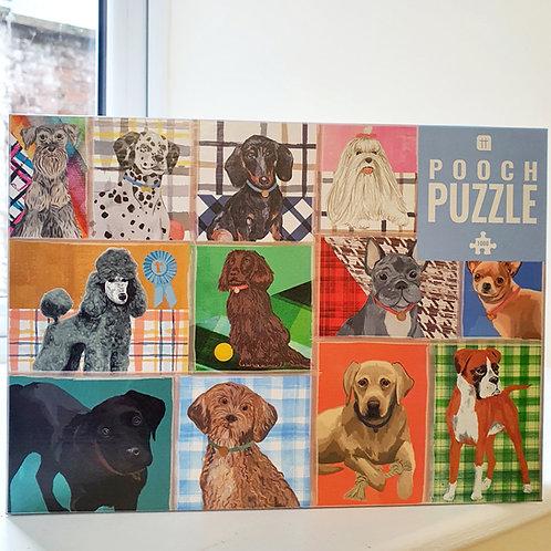 POOCH PUZZLE JIGSAW (1000 pieces)
