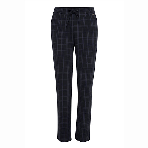 FRANSA BLACK & NAVY CHECK PANT