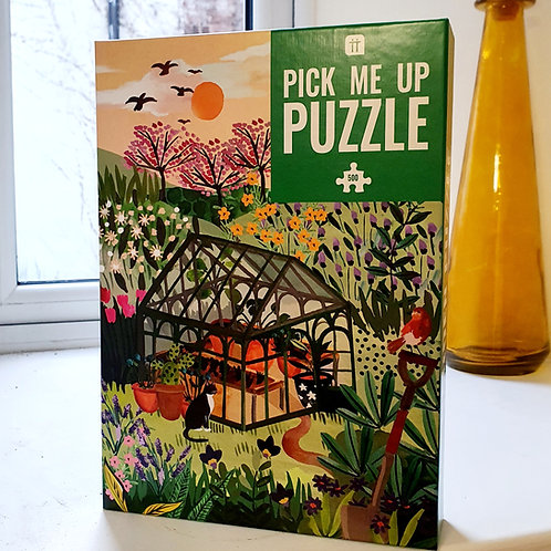 GARDEN JIGSAW (500 pieces)