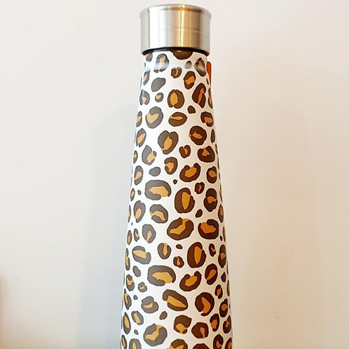 ANIMAL PRINT WATER BOTTLE (STAINLESS STEEL)
