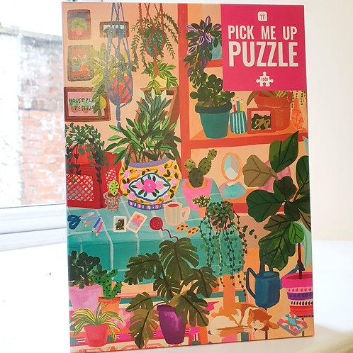 HOUSE PLANTS JIGSAW (1000 pieces)