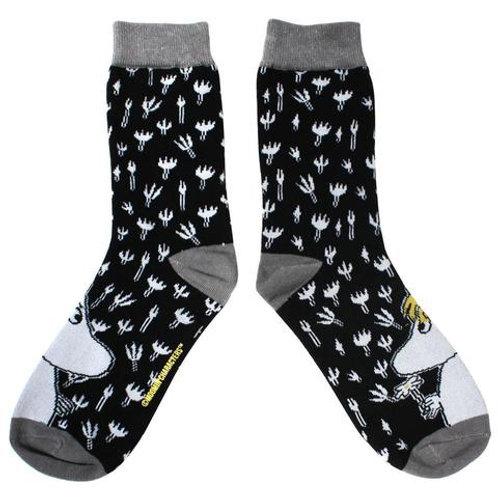 MOOMIN SOCKS (Black & White)