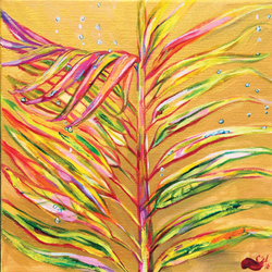 """Coloured Palms"""