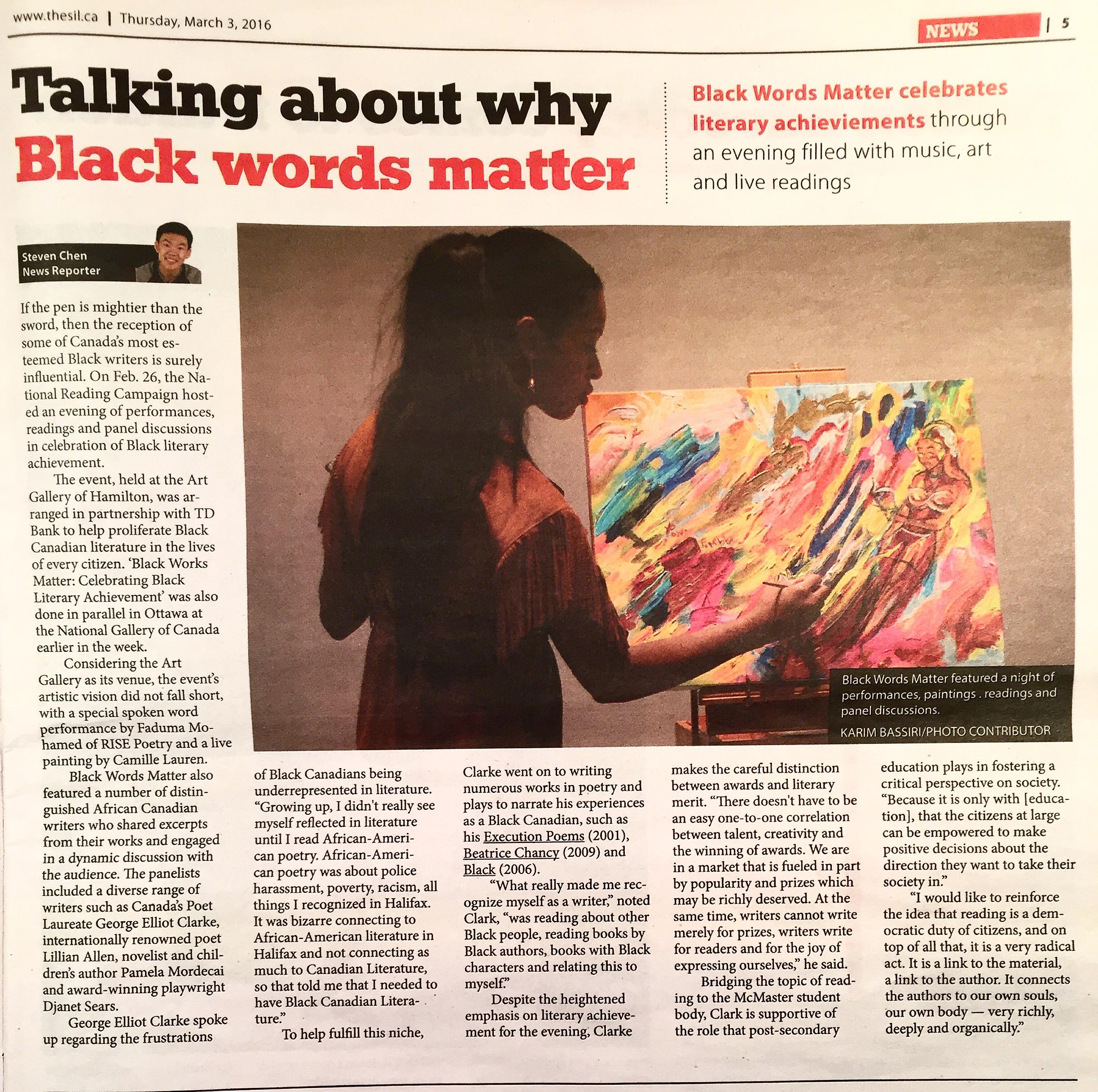 Black Words Matter Article