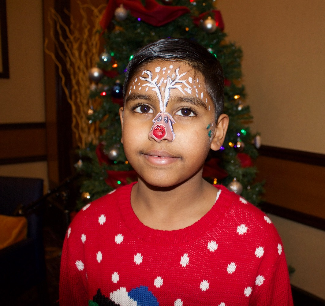 Holiday Party Face Paint