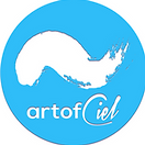 This is the art of ciel logo. I provide services like: painted vows, which is live art of your wedding reception! I also create custom artwork using your decriptions. I paint live at special events too, and  do body paint for commercials, photoshoots, videoshoots and campaigns. I'm ready to hire, so put me to work