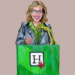 Elizabeth May- Green Party