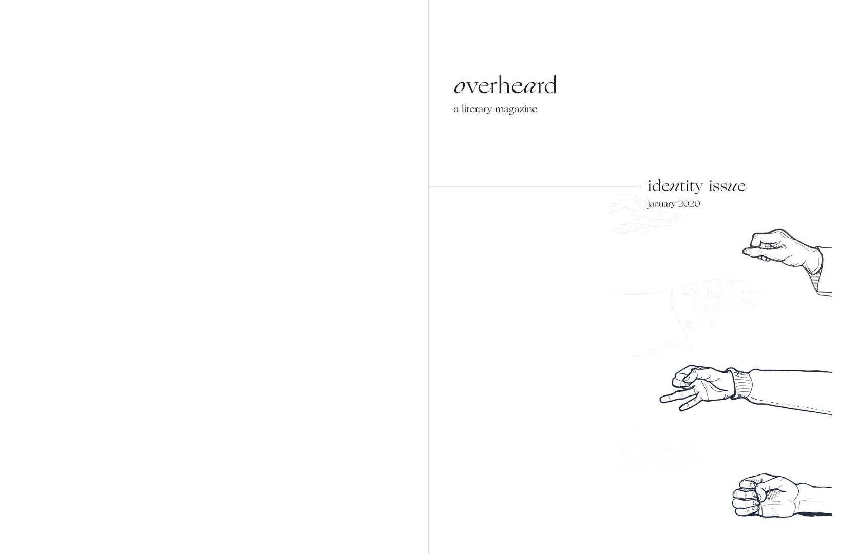 Overheard magazine page 1