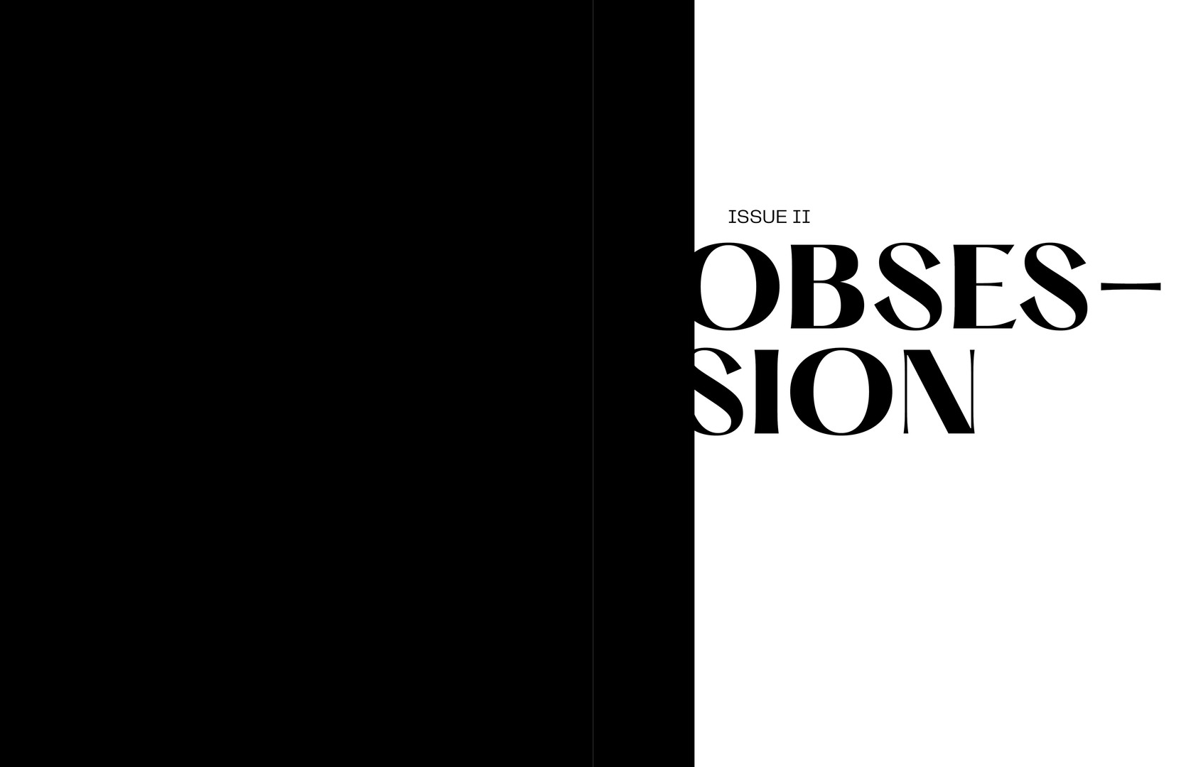 Obsession Title Page