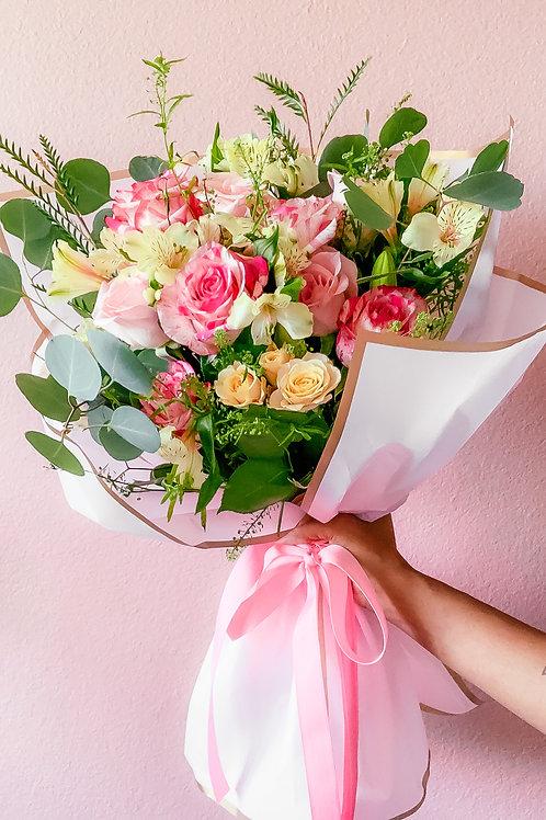 Bouquet of Flowers w/ Note