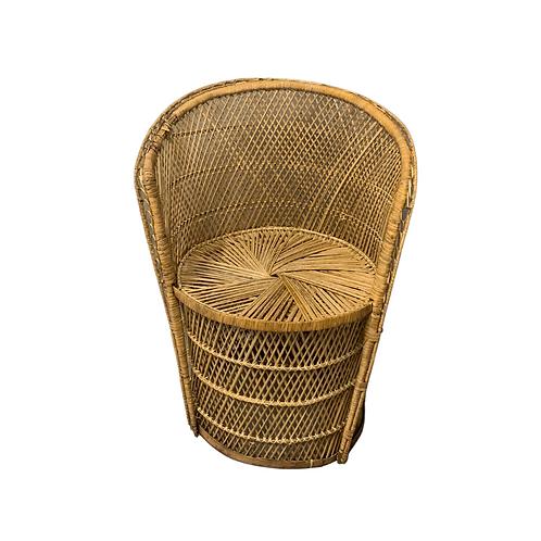 Child BOHO Barrel Chair Rental
