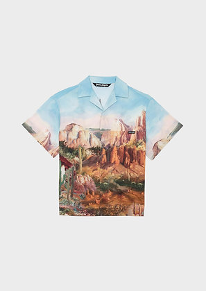 PALM ANGELS CANYON BOWLING SHIRT