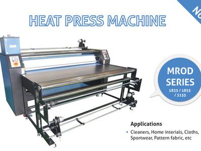 HEAT PRESS MACHINE MROD SERIES 1835/1855/3155