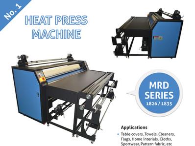 HEAT PRESS MACHINE MRD SERIES 1826/1835