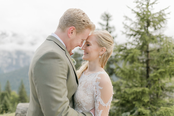 Hochzeit am Kreuzjochhaus in Garmisch-Patenkirchen
