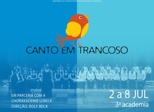 Canto em Trancoso 2017 Teatro LOccitane  em Trancoso – Bahia.