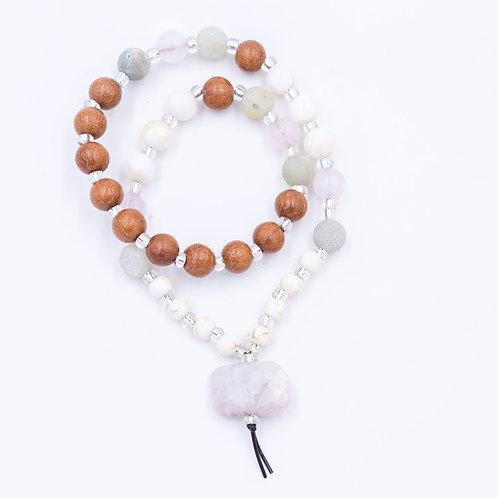 Peace and calm mala bracelet