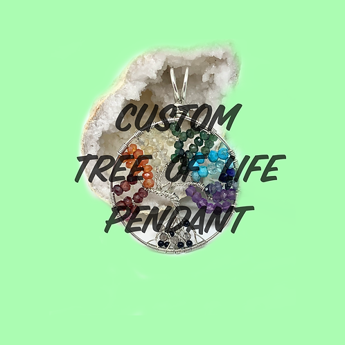 Custom Tree of Life Pendant