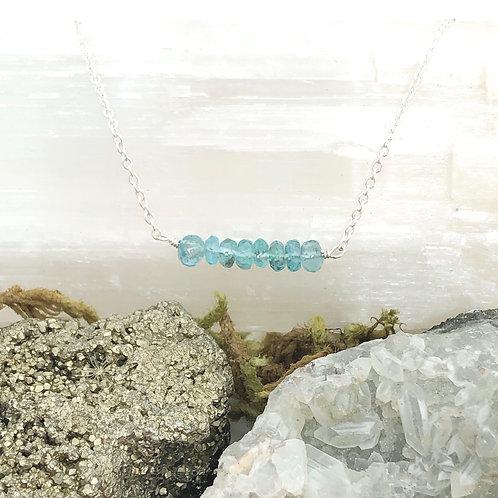 Blue Apatite (Throat Chakra) Bracelet