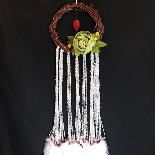 Red Quartz Dream Catcher/Wall Hanging