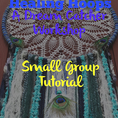 Small group dream catcher workshop