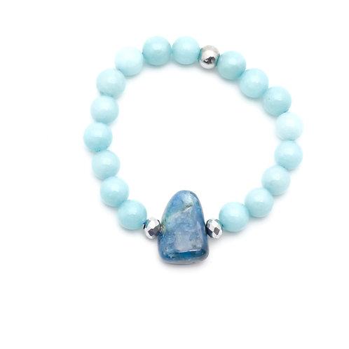 Calm and clear bracelet