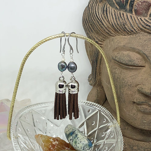 Diffuser Tassel Earrings