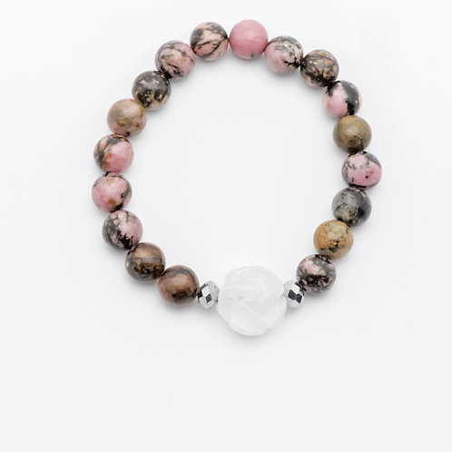Compassionate rose bracelet