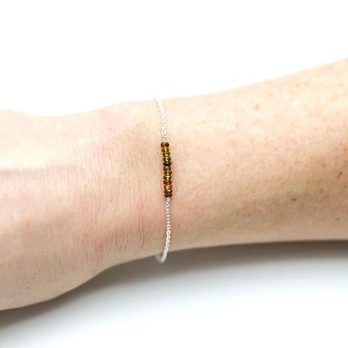 Multi-Tourmaline Chakra Bracelet
