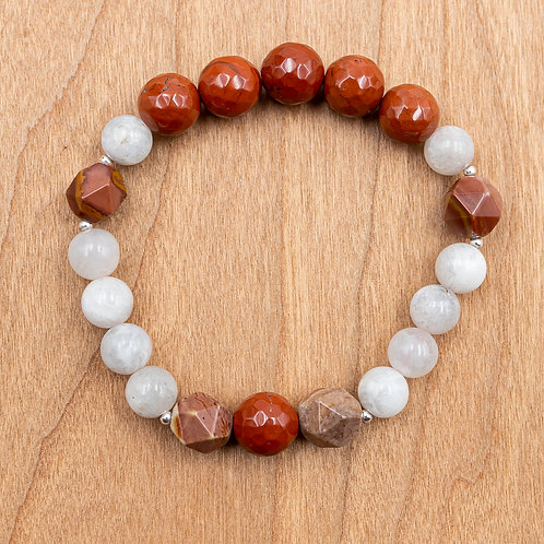 Moonlit Root Stretch Bracelet