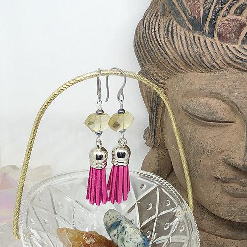 Diffuser Tassel Earrings