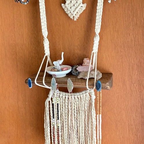 Macrame MINI Crystal and Jewelry Alter