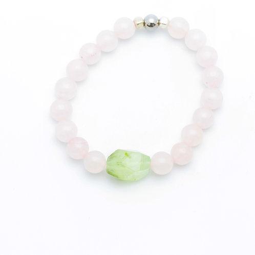 Custom Stetch Mala Bracelet