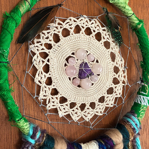 "7.5"" Custom Dream Catcher Sample"