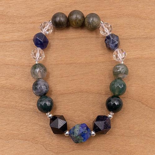 Azurite Stretch Bracelet