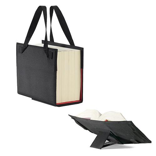 LexSKIN Schönfelder Tasche (Nylon), tragbarer Umschlag inkl. Buchstütze