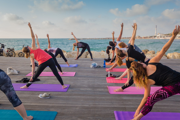 Sunset Yoga Tel Aviv