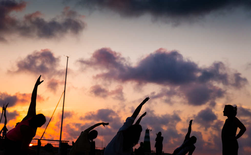 Sunset Yoga Tel Aviv