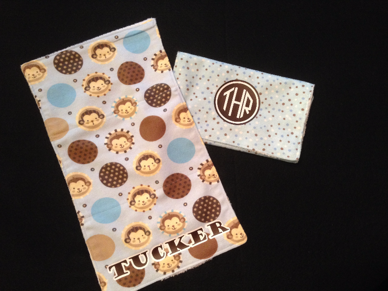 Custom Burp Cloths